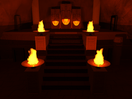 LOZ: OOT - Fire Temple by Neon2005