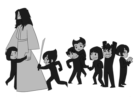 WIP - Samurai Dad ft. Daughters of Aku by color-theorist