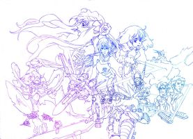Macross Frontier-outline by SS-Cheong