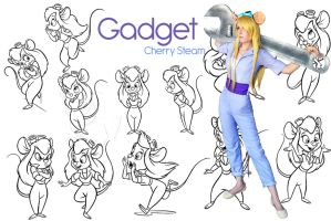 Gadget Cosplay by CherrySteam