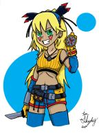 Little Warrior Tima New Outfit by Shapshizzle