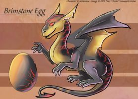The Brimstone Egg - Adoptable by Ulario