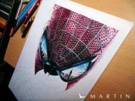 The Amazing Spiderman WIP II by Martin--Art