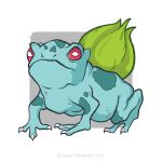 #001 Bulbasaur by DLouiseART