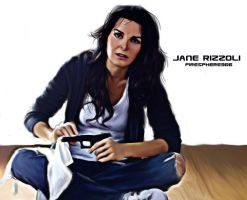 Jane Rizzoli-Digital Painting by Firesphere306