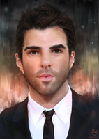 Zachary Quinto by StarshipSorceress