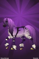 Evanescence Horse by ForeverFallen16
