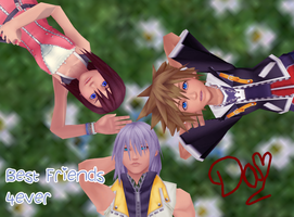 Kingdom Hearts-MMD by danit09182