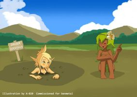 Wakfu - Quicksand #3 by A-020