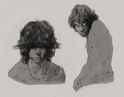 Jim Morrison The Doors by mstrychowska