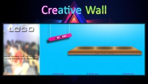 Creative Wall | FB Timeline Cover by j3v5k1