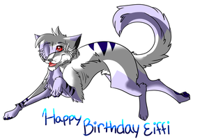 Happy birthday Eiffi! by FallenIXFrozenFire