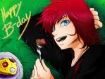 5 years_-_Happy B-Day Aioria by Sandricola