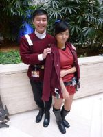 AWA 2014: The Sulu Siblings (Family Portrait) by galaxy1701d