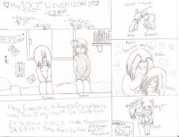 My 100th Deviation by angelofcryinghearts