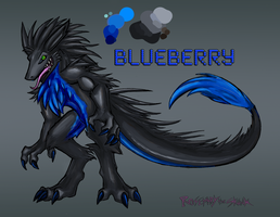 Blueberry Ref Sheet by Rosemary-the-Skunk