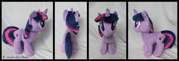 Custom Twilight Sparkle Plush by Sonic-Spatula