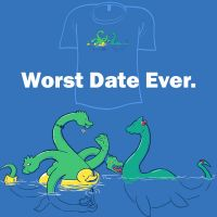 Woot Shirt - Worst Date Ever. by fablefire