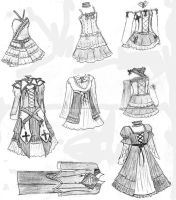 lolita dresses designs 2 by dreamlessxangel