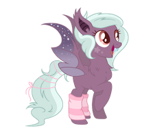[CLOSED] Sparkly Batpony Adopt by Sigh-Fi