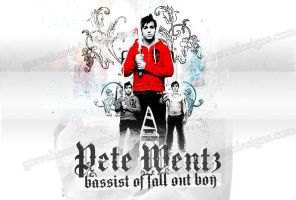 Pete Wentz Artwork by GraveHeartDesigns