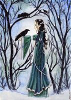 Talking to Crows by Indirie