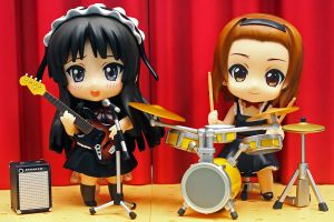 Nendo Mio and Ritsu Live by OvermanXAN