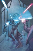 Star Wars Jedi: TDS cvr 2 by StephaneRoux
