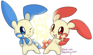 Pokeddexy Day 4: Electric-Type by Eevie-chu