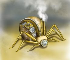 steamspider by MadOyster