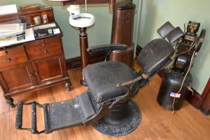 old dentist chair by EnchantedWhispersArt
