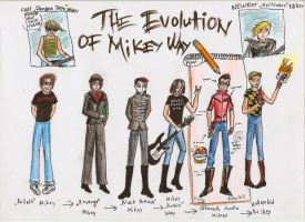The Evolution Of Mikey Way by BadBloodKilljoy