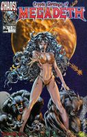 cryptic writings of megadeath Werewolf Comic Book  by bradyrichie