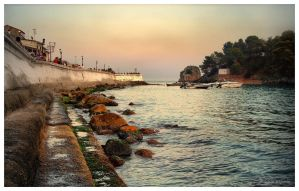 Parga Harbour by Pajunen