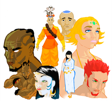 THE PLANET LORDS by Krillin