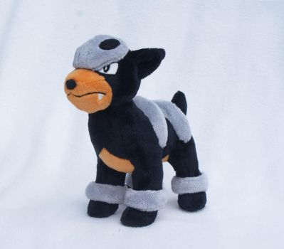 Houndour Plush by Draxorr