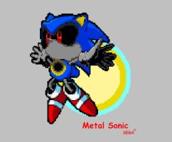Metal Sonic by Phycosmiley