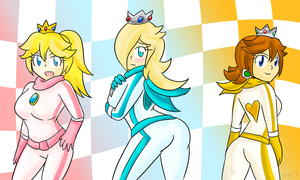Princess Rider Pin-Up ~Request~ by Xero-J