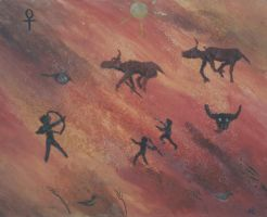 cave painting 1992 by laurichg