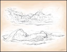 Landscape1_sketches by swirly-cloudy-chewy