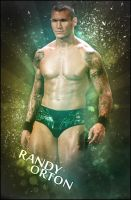 WWE Randy Orton Poster by SaintMichael