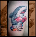 Tattoo: Shark by EnricoGalli
