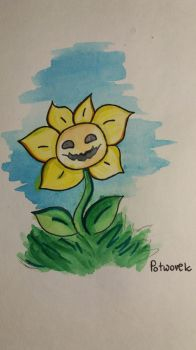 Flowey by Potworek19