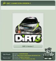DiRT 3 Icon v2 by CODEONETEAM
