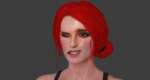 Triss Face Rigg WIP by IIReII