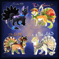 Fall Season Fantsunekos - Auction CLOSED by StanHoneyThief