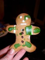 Gingerbread Leper by musical-box
