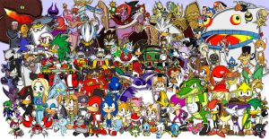 Sonic 20th Anniversary Tribute by DanJ86