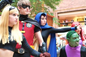 Teen Titans by TitanesqueCosplay