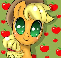 Cute Applejack by MarkianaTC